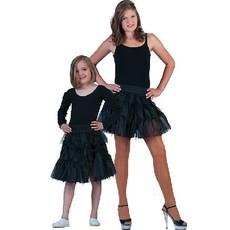 Fancy petticoat zwart kind