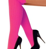 Kniekousen fluor pink