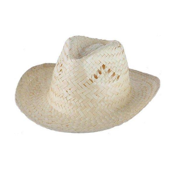 Strohoed Cowboy beige