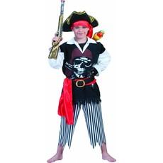 Piratenkostuum jongen Sailor 4-delig