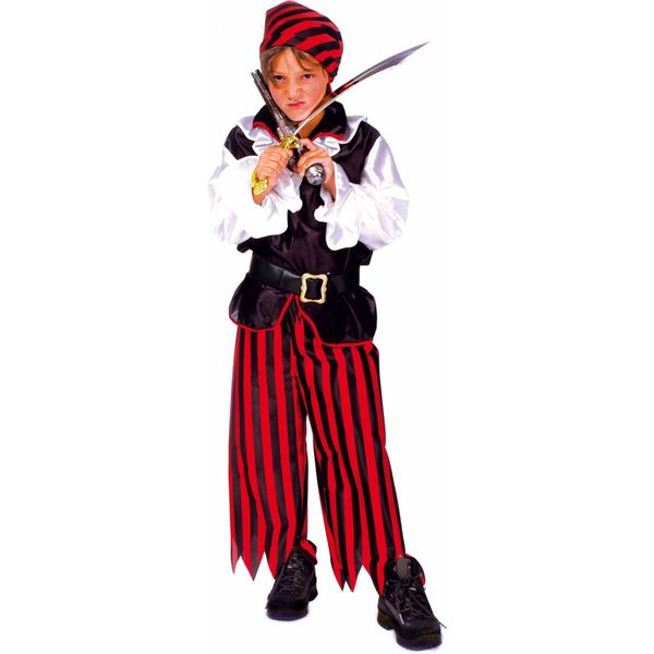 Piratenpak kind 4-delig