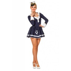 Navy Sailor lady kostuum