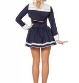 Navy Sailor lady kostuum