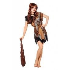 Oermens velboa Afrika kostuum vrouw
