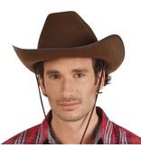 Hoed vilt Cowboy bruin