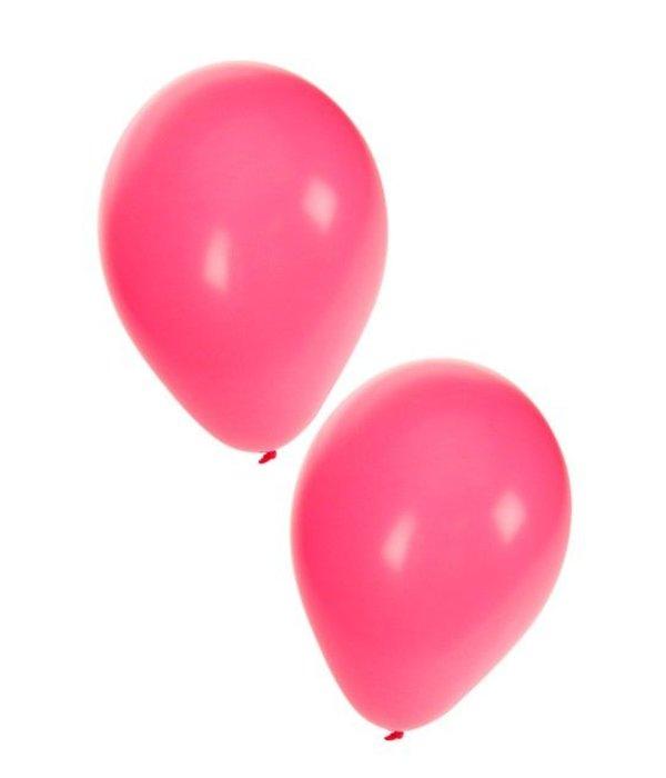 Ballonnen fucsia Roze 50 stuks