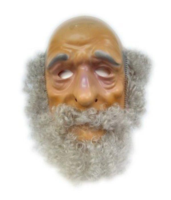Masker Abraham met haar