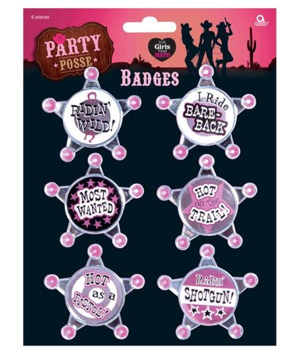 Badges vrijgezellenfeest