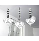 Hangdecoratie Just Married