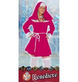 Nonnenpakje Benedicte pink