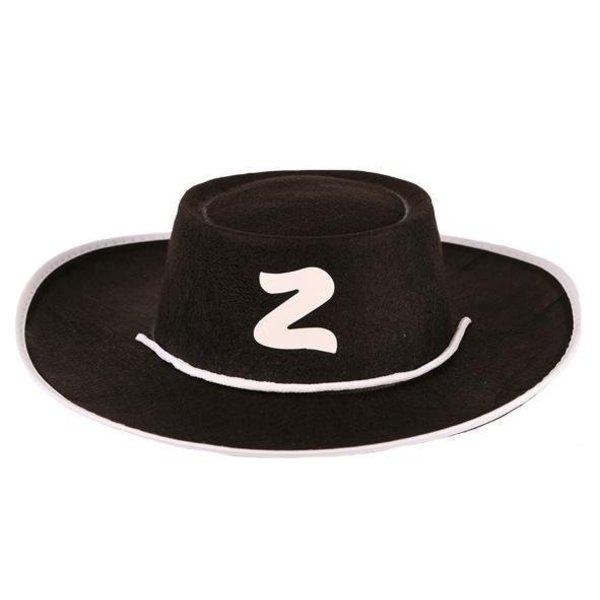 Hoed kind Zorro vilt