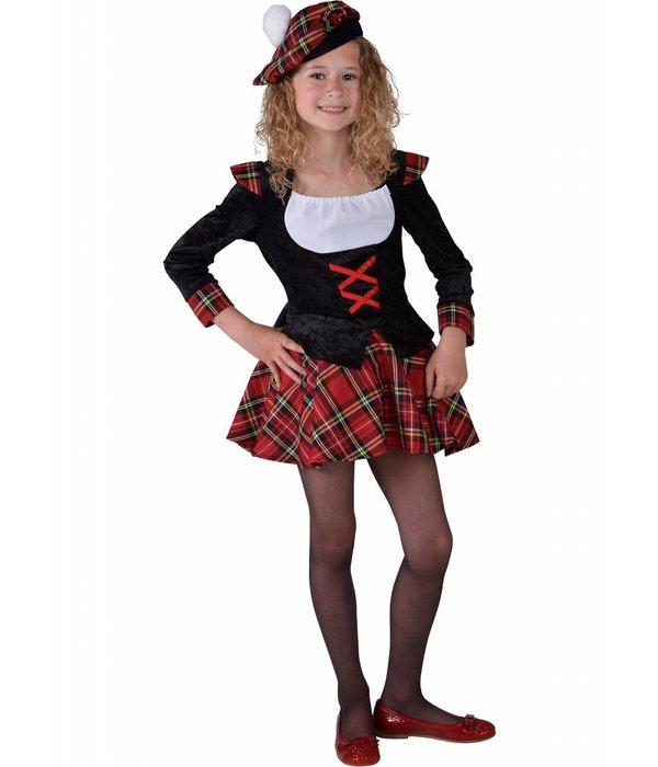Schots meisje kostuum
