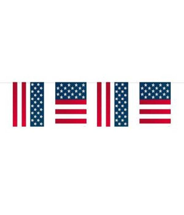 USA Party vlaggenlijn 10m