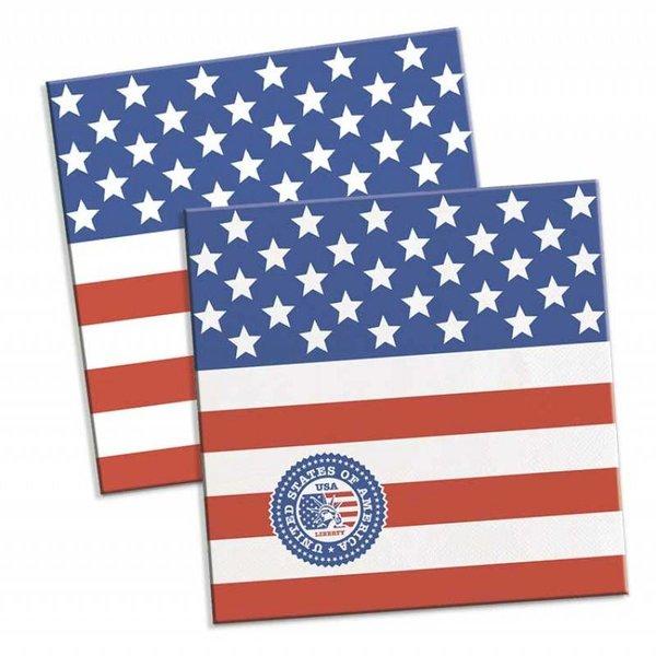 Servetten USA party