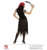 Boekanier piraten dame