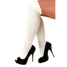 Tiroler sokken Ecru