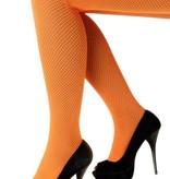 Netpanty oranje fluor