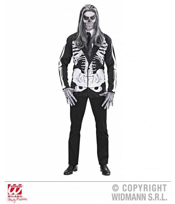 Skelet jas halloween