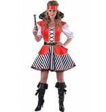 Kapitein Haak kostuum elite vrouw