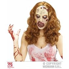 Zombie dames pruik