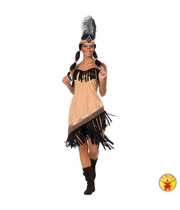Sexy Indianenpakje dames carnaval
