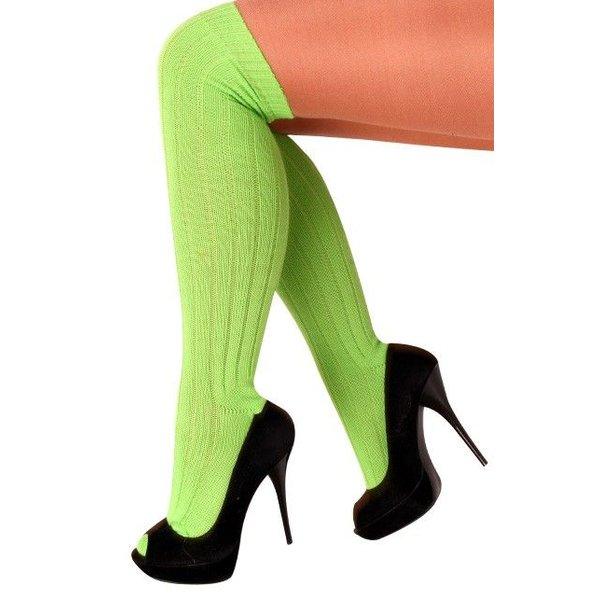 Kniekousen fluor groen