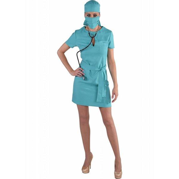 Sexy Chirurg kostuum vrouw