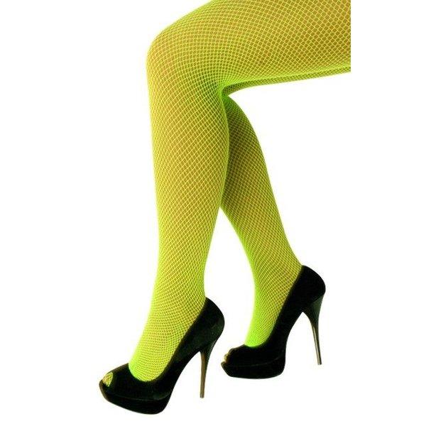 Netpanty groen fluor