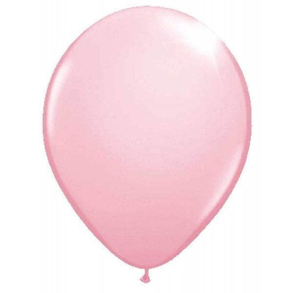 Roze metallic ballonnen 30cm - 10 stuks