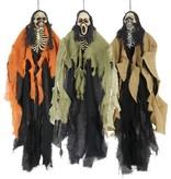 Skelet decoratie Halloween