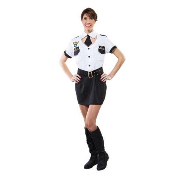 Sexy pilotenpakje dame