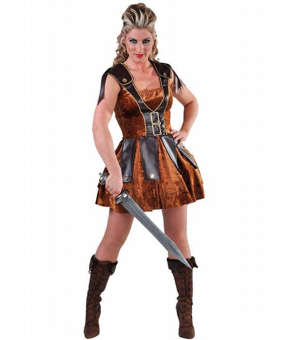 Gladiator dames kostuum elite