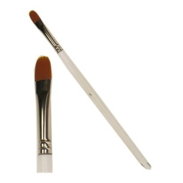 PXP penseel plat + ronde top 9 mm - nr.5