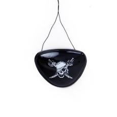 Piraten Ooglapje plastic met print