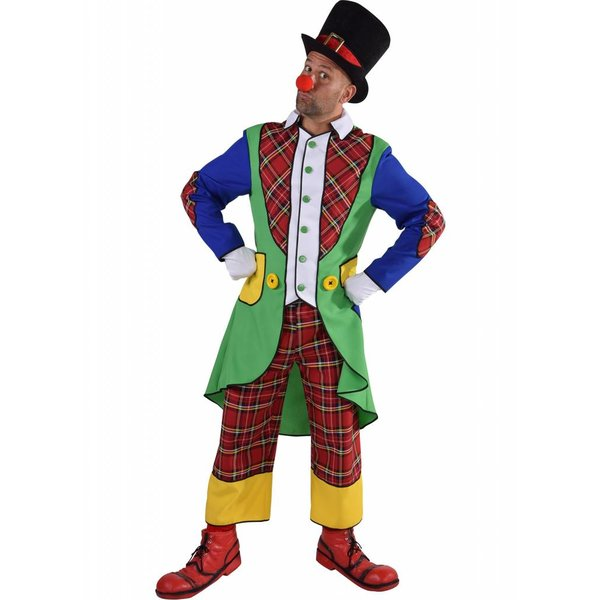 Clownskostuum elite man