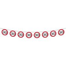 30 Jaar Verkeersbord Slingers