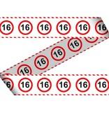 Afzetlint verkeersbord 16