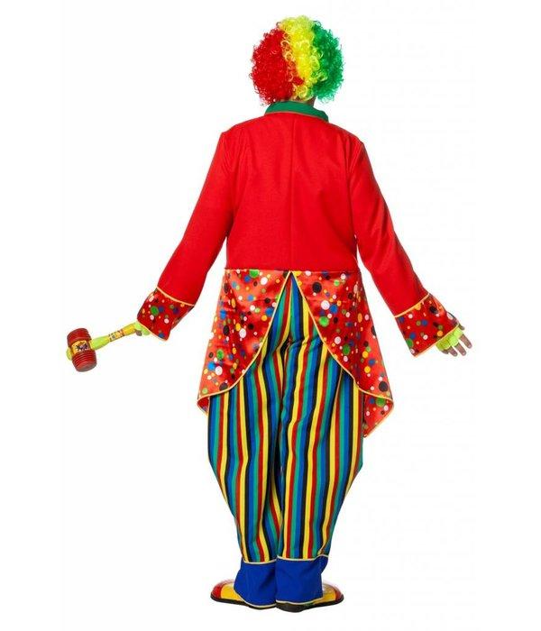 Clown kostuum man Joep