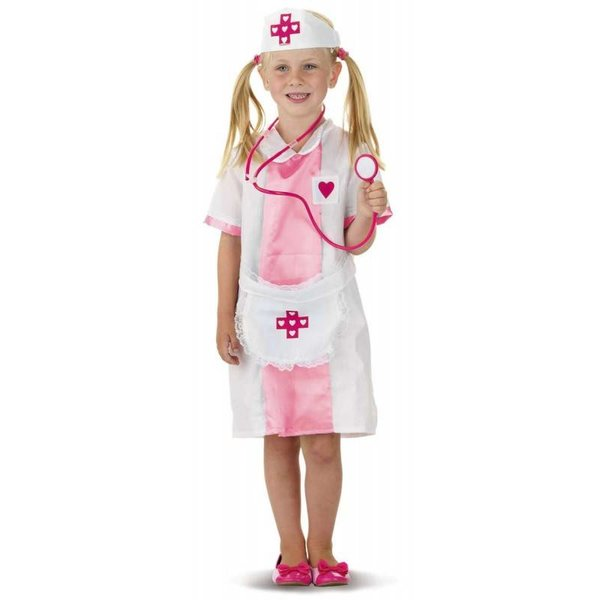 Roze Verpleegster kostuum kind