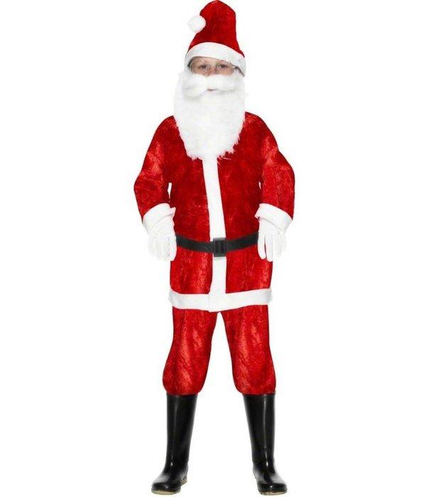Mini Santa kostuum velours