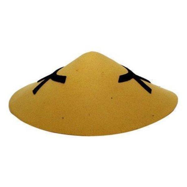 Chinese hoed vilt Coolie