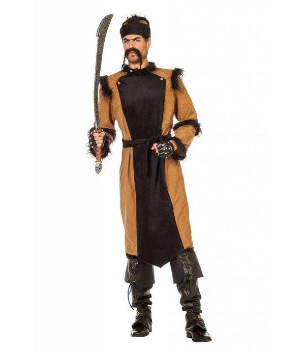 Dzjengis Khan Heerser kostuum man