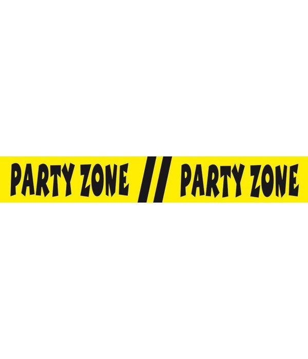 Afzetlint Party Zone
