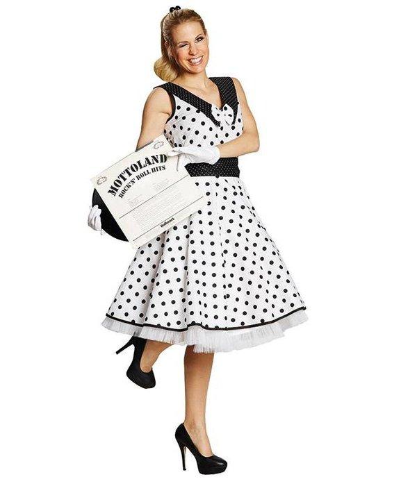 Rock en Roll jurk jaren 50