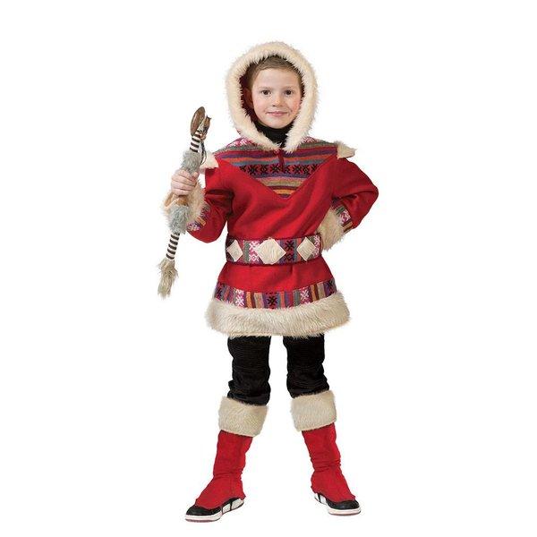 Eskimo pakje kind rood