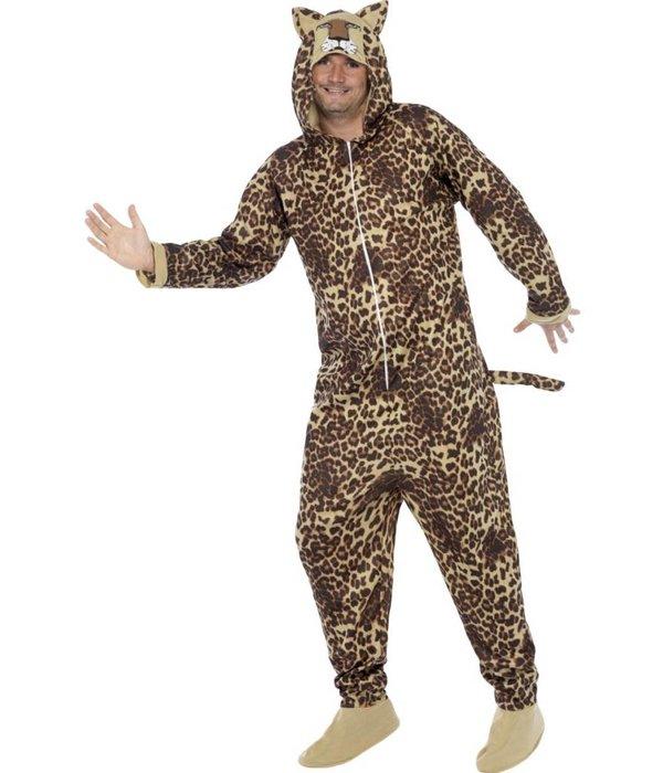 Luipaard onesie