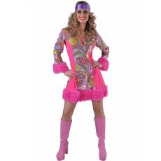 Hippie jurkje funky colours