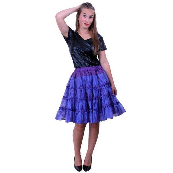 Petticoat 5-laags paars