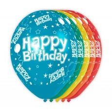Happy Birthday Verjaardag Ballonnen 5 stuks