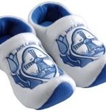 Klompsloffen Tulp/Molen delftsblauw
